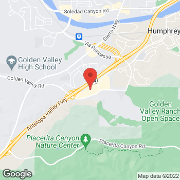 Map of Staples at 19141 Golden Valley Rd, Santa Clarita, CA 91387
