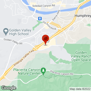 Map of Staples® Print & Marketing Services at 19141 Golden Valley Rd, Santa Clarita, CA 91387