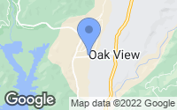 Map of Oak View, CA