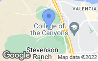 Map of Stevenson Ranch, CA