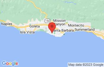 Map of Santa Barbara