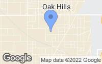 Map of Oak Hills, CA
