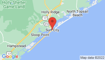 Map of Surf City