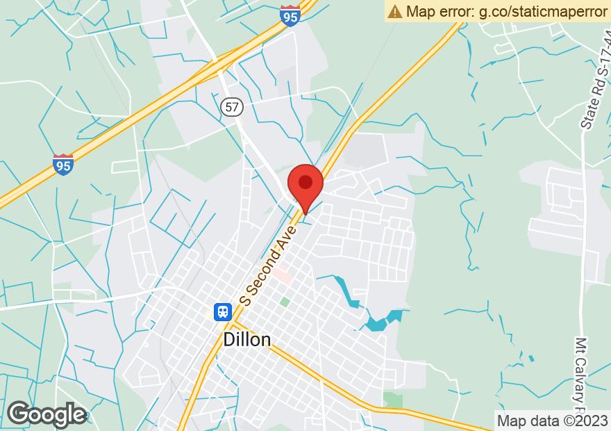 Google Map of 1210 HIGHWAY 301 N