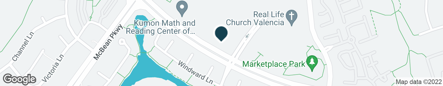Google Map of23925 NEWHALL RANCH RD