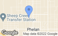 Map of Phelan, CA