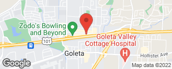 Map of 5715 Calle Real in Goleta
