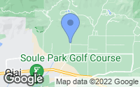 Map of Ojai, CA