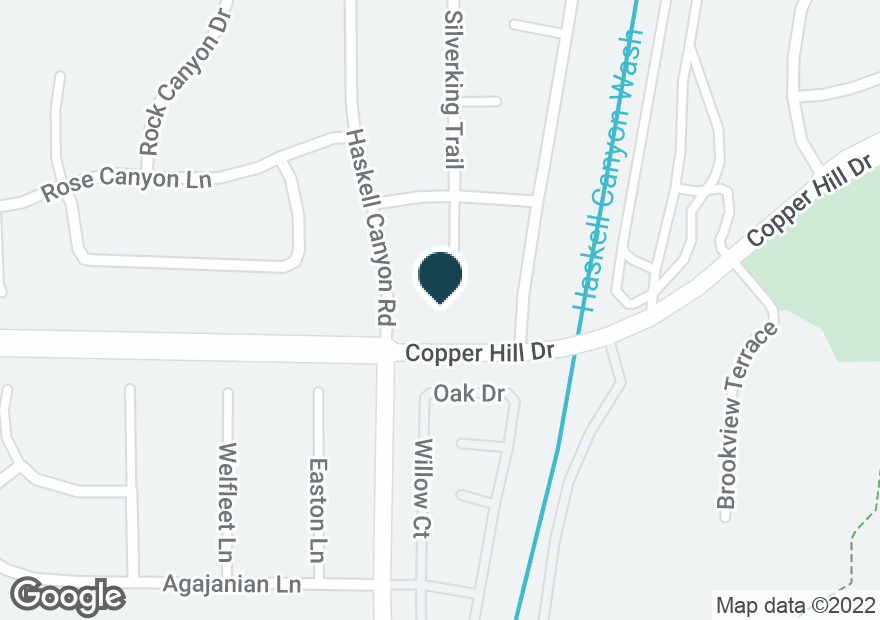 Google Map of28460 HASKELL CANYON RD
