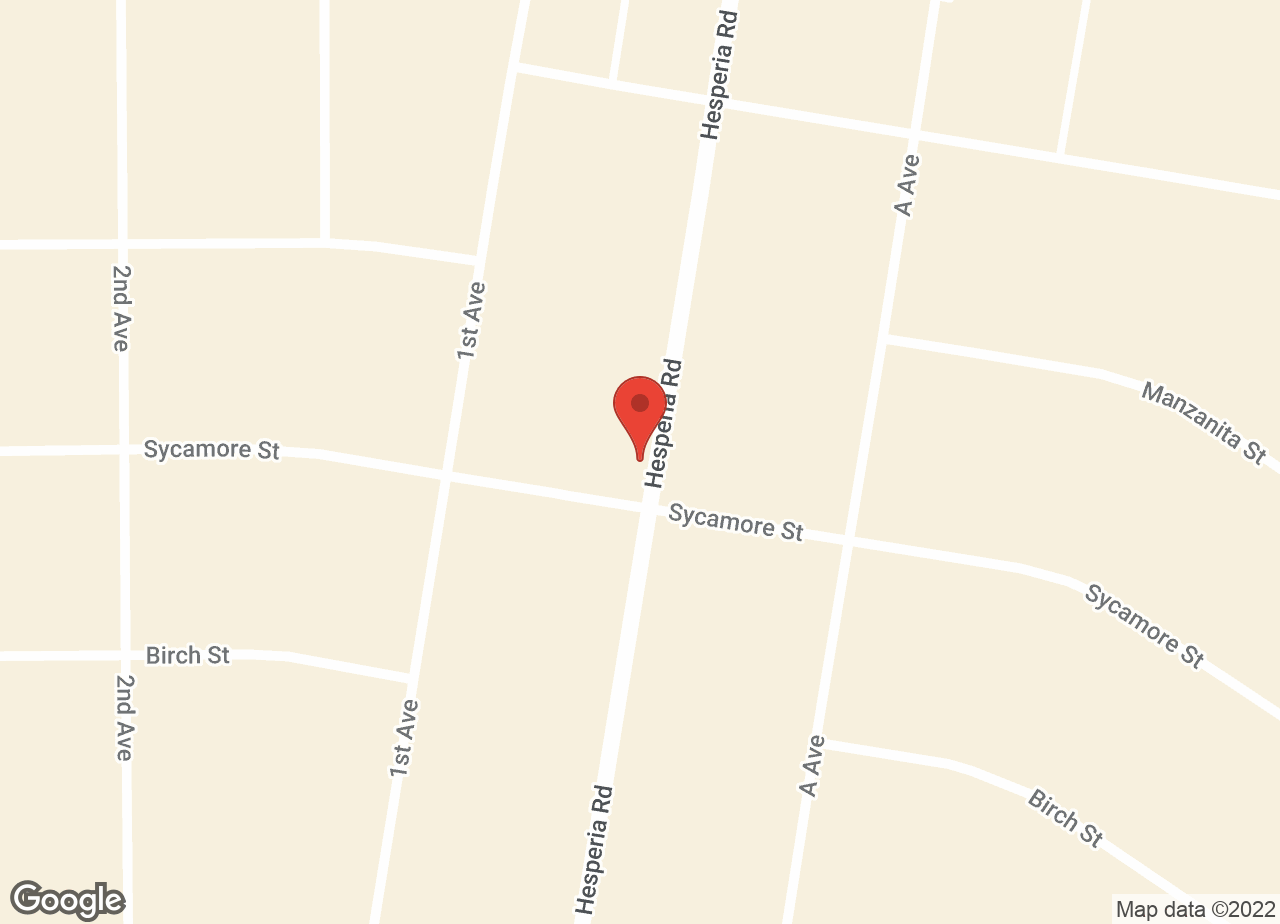 Google Map of VCA Victor Valley Animal Hospital