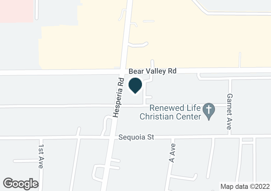 Google Map of17051 BEAR VALLEY RD