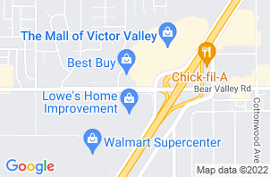 Victorville Mattress Store Location Map
