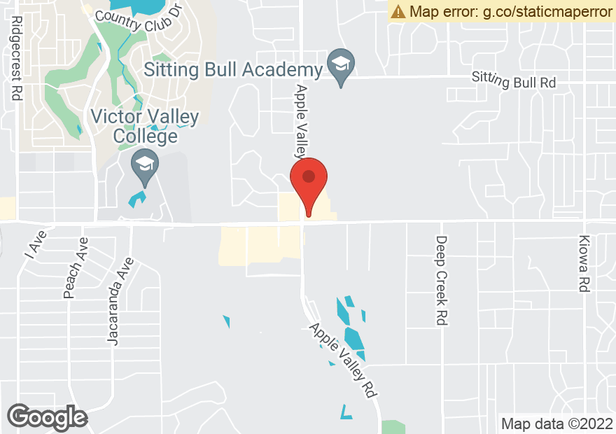 Google Map of 12109 APPLE VALLEY RD