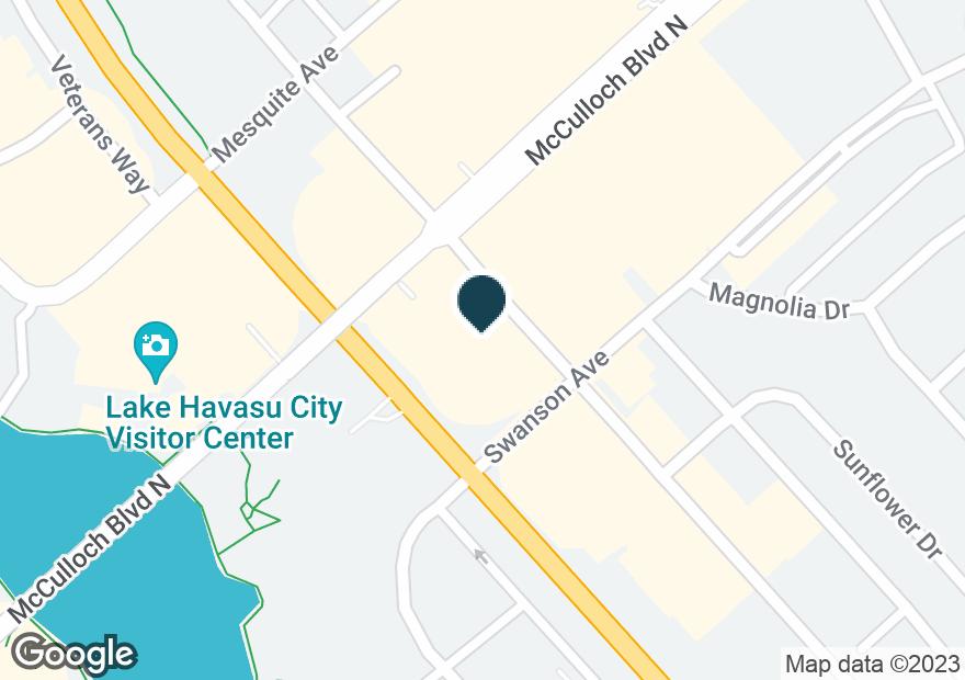 Google Map of25 LAKE HAVASU AVE S