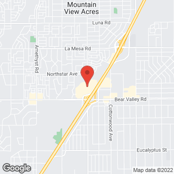 Map of Sunglass Hut at 14400 Bear Valley Rd, Victorville, CA 92392