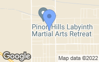 Map of Pinon Hills, CA