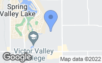 Map of Apple Valley, CA