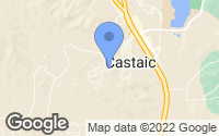 Map of Castaic, CA