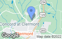 Map of Clermont, GA