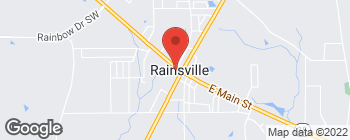 Map of 65 Main St W in Rainsville