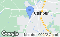 Map of Calhoun, GA