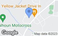 Map of Calhoun, GA