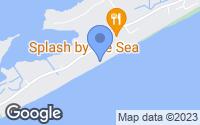 Map of North Topsail Beach, NC