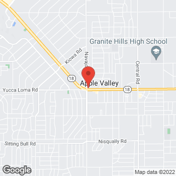 Map of Rite Aid at 21738 US Highway 18, Apple Valley, CA 92307