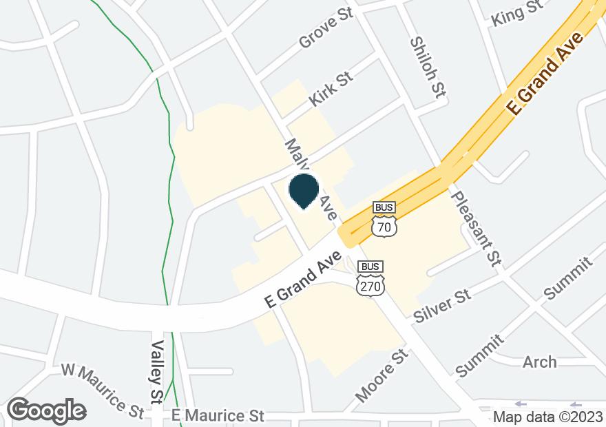Google Map of159 E GRAND AVE