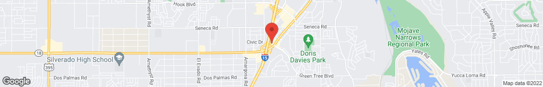 Map of 14244 Valley Center Dr in Victorville