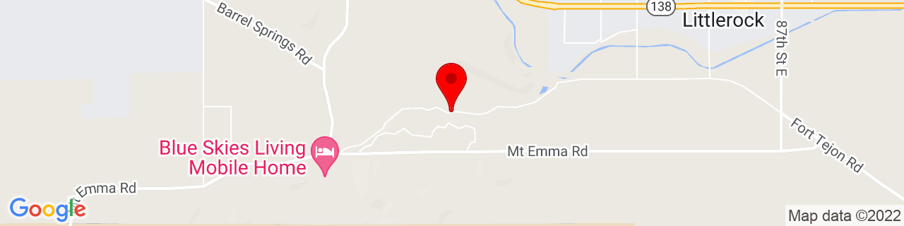 Google Map of 34.5104284, -118.0150203