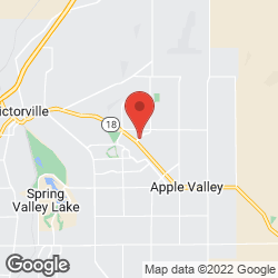 Town of Apple Valley on the map