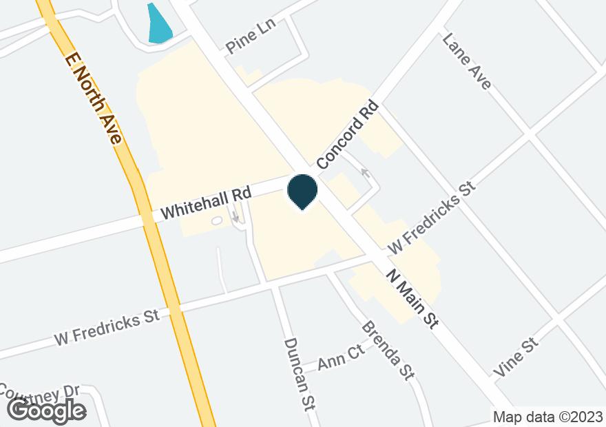 Google Map of2811 N MAIN ST