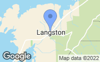 Map of Langston, AL