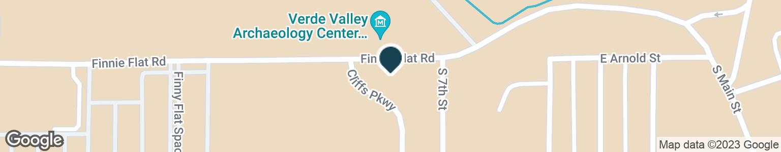 Google Map of475 W FINNIE FLAT RD