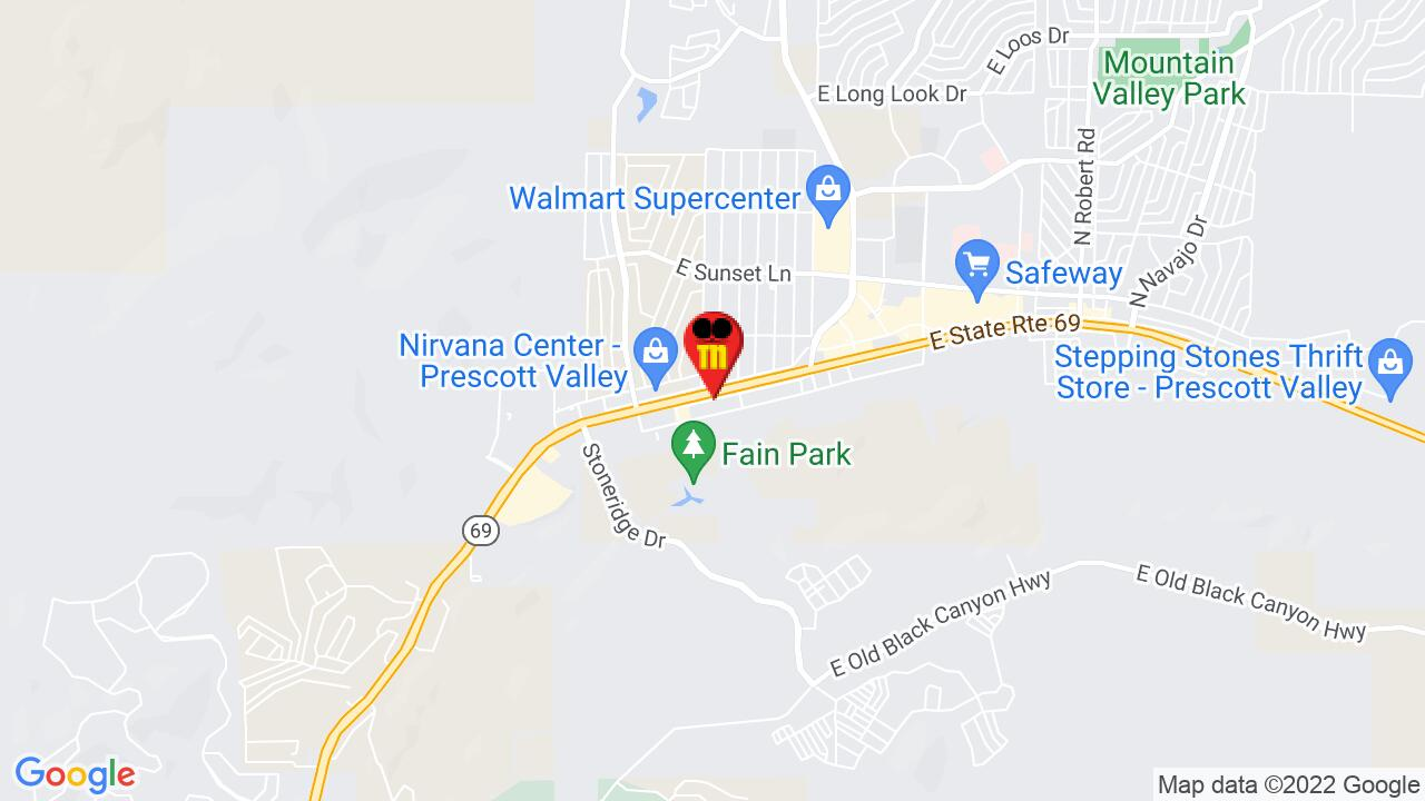 Google Map of Prescott Pest Control
