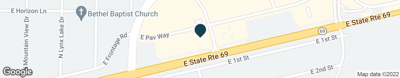 Google Map of2880 N CENTRE CT
