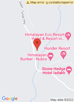 Google Map of Double Humped Camp - Hunder