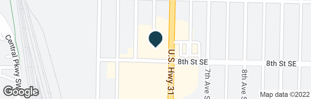 Google Map of1127 6TH AVE SE