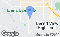 Map of Palmdale, CA