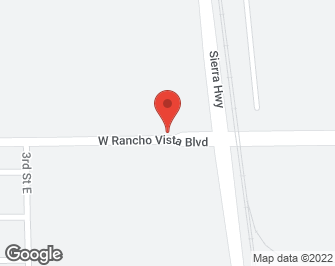 Southern California Real Estate | View Sierra Highway / Rancho Vista Avenue, P | map