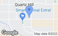Map of Lancaster, CA
