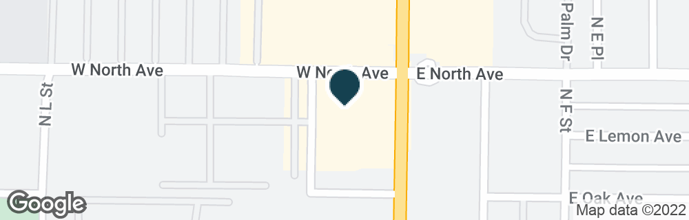 Google Map of937 N H ST