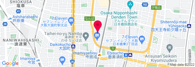 Map for Zepp Namba