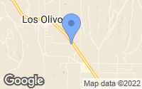 Map of Los Olivos, CA