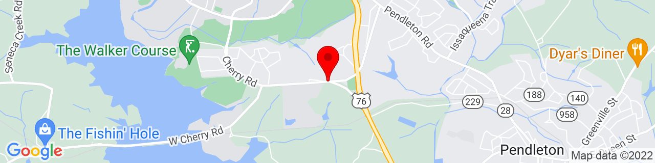 Google Map of 34.6621304, -82.81916939999999