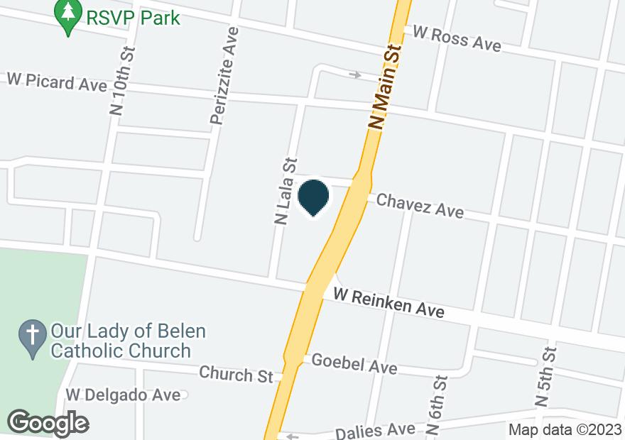 Google Map of315 N MAIN ST
