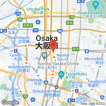 Map of Michael Kors at 5-1-5 Nanba, Osaka-shi, Osaka-fu 542-8510