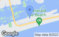 Map of Emerald Isle, NC