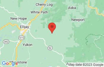Map of Ellijay